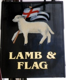 lamb-and-flag-oxford-sign