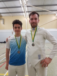 Dan and Jay southern fencing April 2017