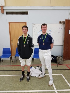 robin and joe southern fencing April 2017